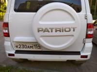 Накладка на задний бампер УАЗ Патриот 2015