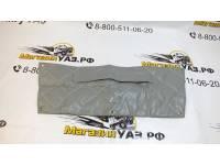 Утеплитель радиатора Патриот (дорестайлинг) светло-серый прострочка ромбом