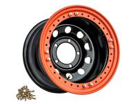Диск колесный OFF-ROAD Wheels черный 1680-53910BL ET-19 с бэдлоком