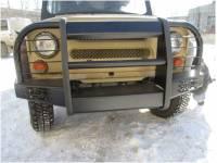 Бампер передний на УАЗ 469 Корсар увеличенный усиленный