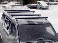 Поперечные реллинги на УАЗ Патриот